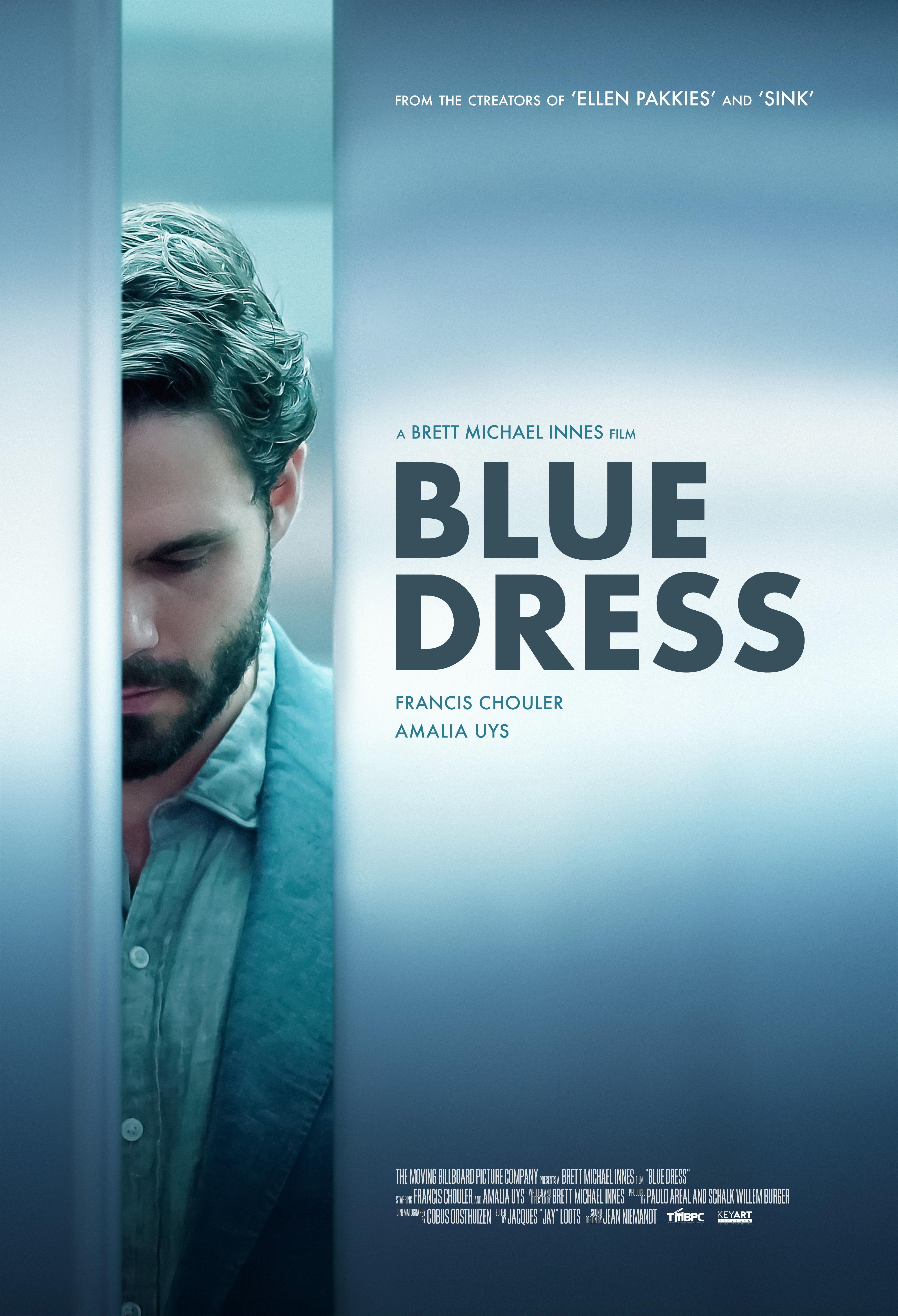 Amalia Uys brett michael innes – blue dress